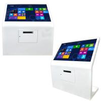 Buy cheap Interactive LED Auto Paper Loading USB A4 Laser Printer Kiosk With QR Code product