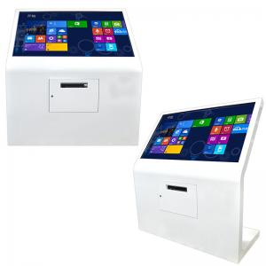 Buy cheap Interactive LED Auto Paper Loading USB A4 Laser Printer Kiosk With QR Code Scanner product