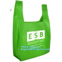 Buy cheap Promotional custom metallic laminated non woven bag, fabric reusable shopping bag, eco friendly non woven bag, pak, pkg from wholesalers