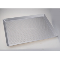 Buy cheap FDA 1.5mm Thickness Bakeware Baking Tray Perforated from wholesalers