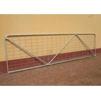Buy cheap Robust Portable Welded Wire Mesh Fence Metal Farm Gates Modern Style from wholesalers