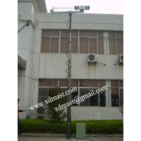 Buy cheap Good quality steel galvanized communication telescoping mast from wholesalers