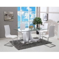 Buy cheap Simple 0.35CBM 50kgs 76cm Solid Wood Dining Table Set from wholesalers