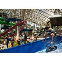 Buy cheap Fiberglass Material Water Wave Pool , Typhoon Lagoon Wave Pool For Surfing from wholesalers