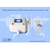 Buy cheap Portable 808nm Diode Laser Hair Removal Machine For Permenant Hair Removal from wholesalers