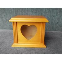 Buy cheap NEW Design Birch Wood Pet Memerial Wooden Pet Urn with Picture Frame from wholesalers