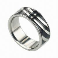 Buy cheap Ring, Can Laser Your Logo for Free, Customized Sizes Accepted product