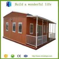 Buy cheap homes luxury prefab hotel villa construction companies beach bungalow for sale from wholesalers
