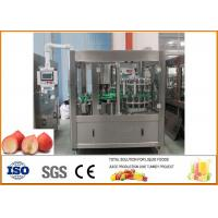 Buy cheap Peach \ Apricot \ Ou Li 6000 Bottles Of Glass Bottle Beverage Production Line Per Hour from wholesalers