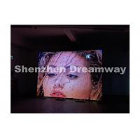 Buy cheap P6 Indoor LED Screen Rental , Steel Cabinet Led Rental With 96 x 96 dots from wholesalers