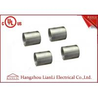 Buy cheap 1-1/4 inch 1-1/2 inch Electro Galvanized IMC Coupling 3.0mm Thickness Inside Thread from wholesalers