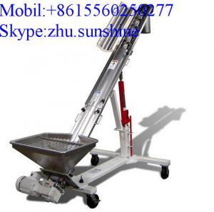 Buy cheap Hopper Screw Conveyor, Stainless steel Inclined Screw Hopper Loader product