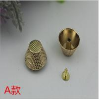Buy cheap Fashion  gold pattern 10 mm metal die-cast zinc alloy dome pop rivet for bag bottom from wholesalers