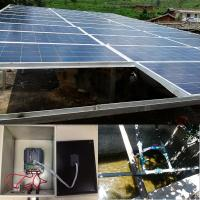 Buy cheap 7.5KW solar water pump + pump inverter + 10.2KW solar panel whole set system from wholesalers