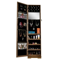 Buy cheap Rotating Mirror Jewelry Armoire from wholesalers