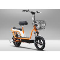 Buy cheap Two Wheel Electric Bike Pedal Assist Electric Bicycle , 48V 12Ah Lead Acid Battery from wholesalers