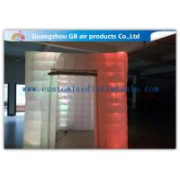 Buy cheap Cool Portable Cube Led Photo Booth Inflatable Decorative Lighting UV Resistant product