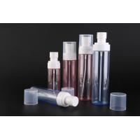 Buy cheap PET Plastic Cosmetic Spray Bottles / Pump Spray Bottle Custom Printing Or Labeling from wholesalers