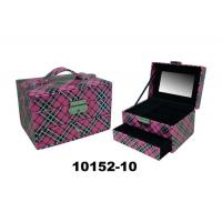 Buy cheap Stackable Drawer Personalised Leather Jewellery Box Eco Friendly 9X10X8 CM from wholesalers