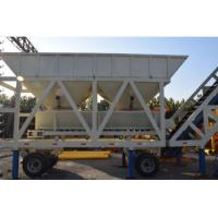 Buy cheap YHZS50 JS1000 Concrete Batching Plant Mobile Type With 50 M³/H Capacity from wholesalers