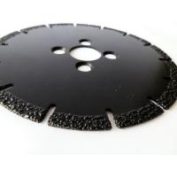 Buy cheap OEM / ODM Vacuum Brazed Diamond Blades , Diamond Saw Blades For Concrete from wholesalers