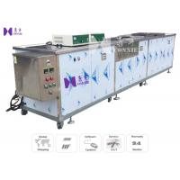 Buy cheap Tableware Semi - Auto Ultrasonic Cleaning Equipment 600W 12Pcs Transducer CE Certificated from wholesalers