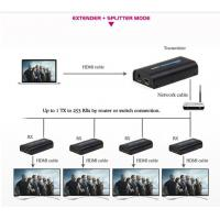 Buy cheap hdmi extender 300m Over RJ45 CAT5e CAT6 UTP LAN Ethernet Repeater - 1080p 3D from wholesalers
