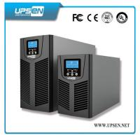 China 24VDC to 220VAC Uninterrupted Power Supply , Solar Online UPS Power with PV Input on sale