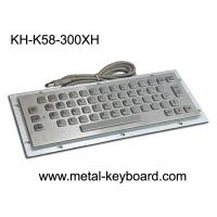Buy cheap IP65 Panel Mounted Keyboard 58 Keys Durable For Kiosk CNC Ticket Vending Machine from wholesalers