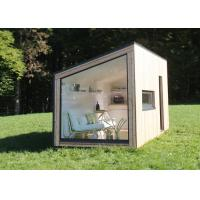 Buy cheap European standard prefab light steel back yard house garden studio resort holiday hotel with CE certificate product