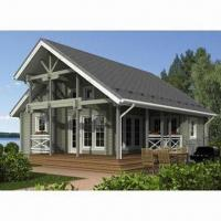 Buy cheap Prefab Wooden House/Log Cabin with 50-yera Lifespan from wholesalers