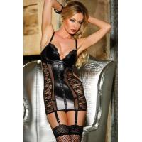 Buy cheap Sexy Lingerie Wholesale Lace Vixen Garter Leather Lingerie Sexy Babydoll Lingerie Chemises wholesale from manufacturer from wholesalers