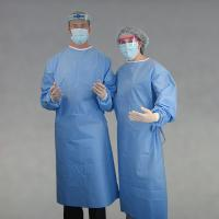 Buy cheap Disposable surgical gown,SMS/SMMS surgical gown,Non-woven surgical gown from wholesalers