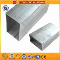 Buy cheap White Anodized Machined Aluminium Profiles For Construction Material High Structural Stability from wholesalers