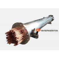 Buy cheap Marine Refrigeration Shell and Tube Heat Exchanger , Water Cooled Evaporator from wholesalers