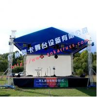Buy cheap Aluminum Outdoor Stage Roofing Truss, lighting truss from Aoka Stage from wholesalers