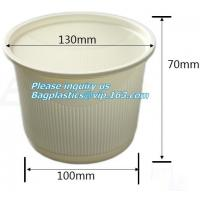 Buy cheap 100% Biodegradable Sugarcane Cup Bagasse Cup Paper Cup,Compostable Disposable Sugarcane Bagasse Cups 8oz corn starch pac from wholesalers