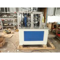 Automatic Deli / Ice Cream Cup Paper Lid Machine Low Energy Consumption