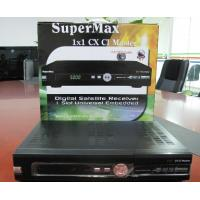 Buy cheap Supermax 1*1 CICX Satellite Receiver With MPEG-2, DVB, Parental Lock, Teletext biss from wholesalers