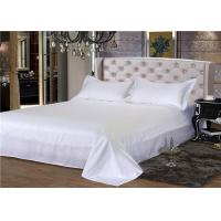 Buy cheap Hotel Bedding Set 100% Cotton And 60S 300TC With Satin White Fashion Style from wholesalers