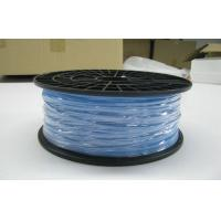 Buy cheap Blue 1.75mm Plastic Filament / Natural PLA Filament For 3D Printer from wholesalers