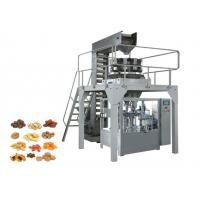 Buy cheap Zipper Stand Up Pouch Packaging Machinery , Automatic Biscuit Packing Machine from wholesalers
