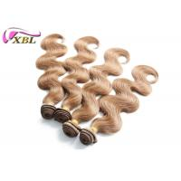 Buy cheap Thick Ends Colored Brazilian Human Hair Bundles Weave Color 30 Body Wave Human Hair Weft from wholesalers