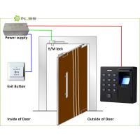 Buy cheap Mini Stand Alone Biometric Door Access Home Security System from wholesalers
