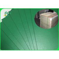 Buy cheap FSC Green Colored Book Binding Board Good Stiffness For Folder Customized from wholesalers