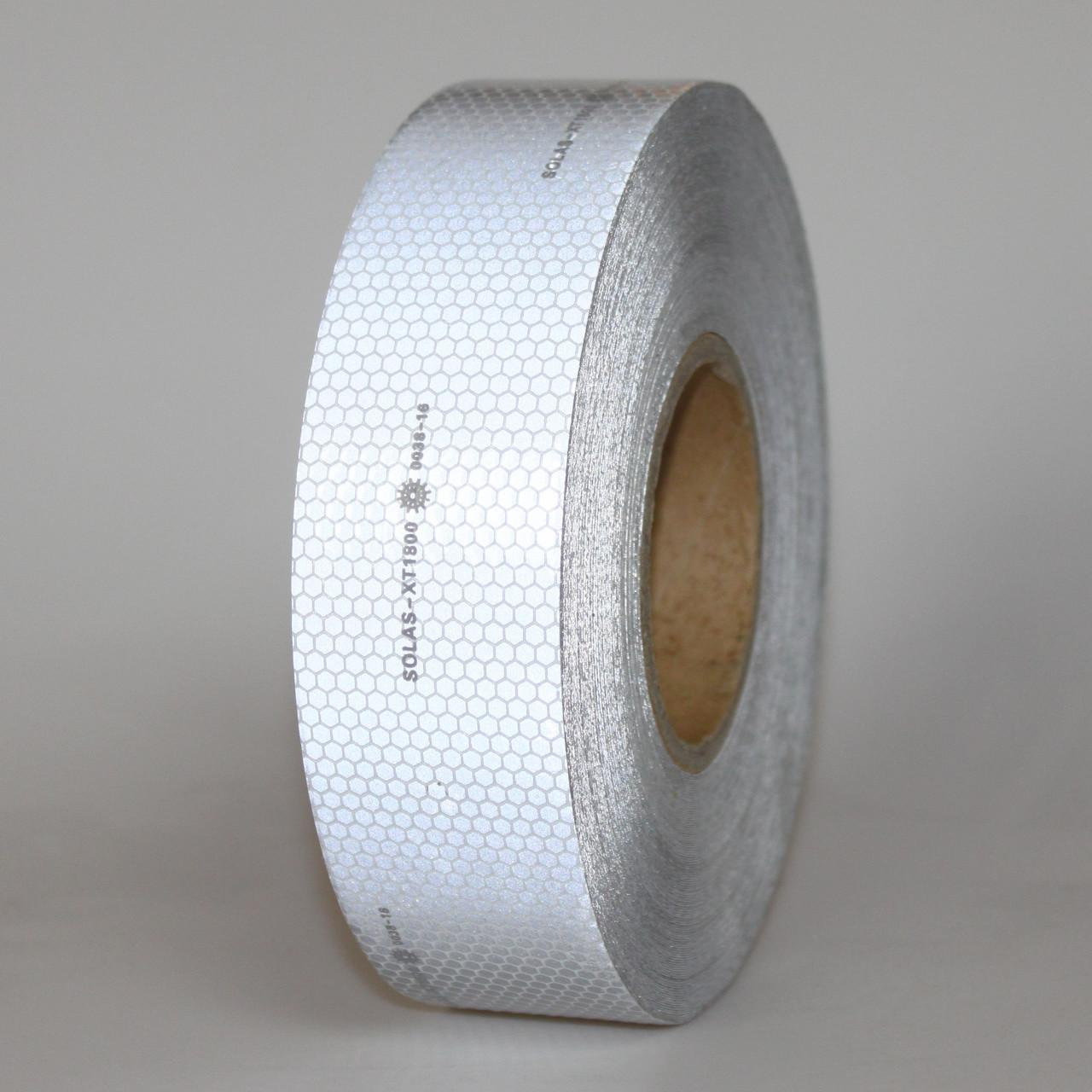 Buy cheap Conspicuity Safe SOLAS Reflective Tape Coast Guard Clear 1.22M x 45.7M Log Roll from wholesalers