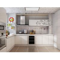 Buy cheap modern custom made modular pvc/melamine kitchen cabinet from wholesalers