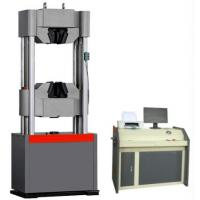 Buy cheap 200 Ton Tensile Compression Tester , Computer Display Universal Tensile Tester product