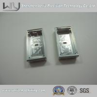 Buy cheap Custom Made Aluminum CNC Machined Parts / CNC Machine Part Electronic Watch Case Al6061 from wholesalers
