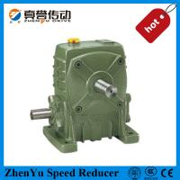 Buy cheap Cast Iron Worm Speed Reducer Gearbox 1400rpm , Electric Motor Speed Reducer from wholesalers
